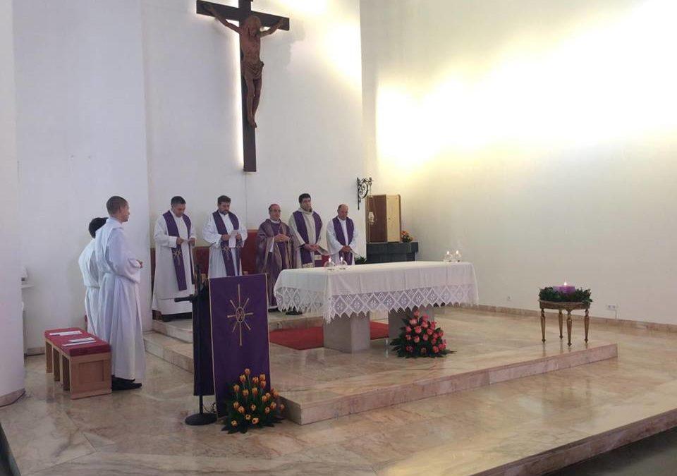 Aniversário do Seminário Nossa Senhora de Fátima e instituição nos ministérios de leitor e acólito