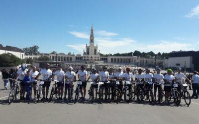 Peregrinação Dehoniana a Fátima em bicicleta