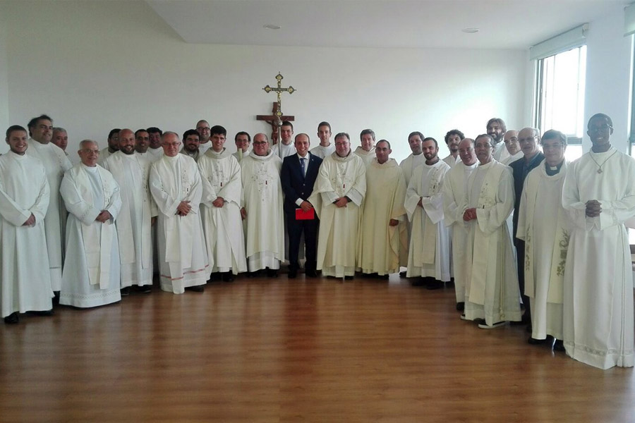 Primeira profissão religiosa em Alfragide