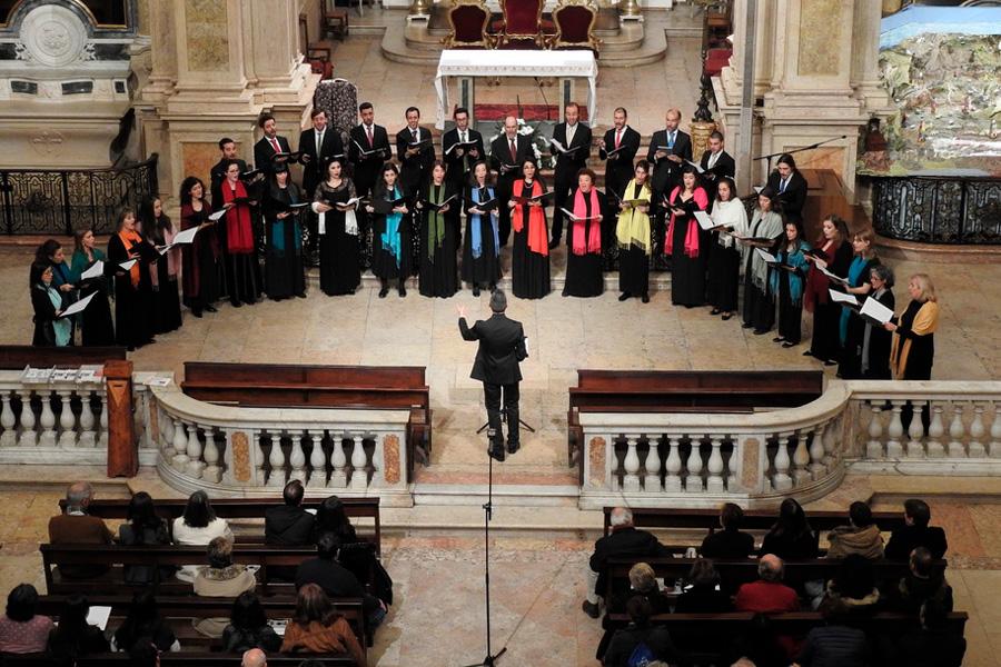 Concerto de Natal do Coro Ricercare na Igreja do Loreto