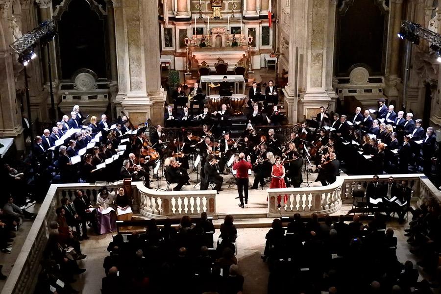 """Te Deum"" na Igreja do Loreto em Lisboa"