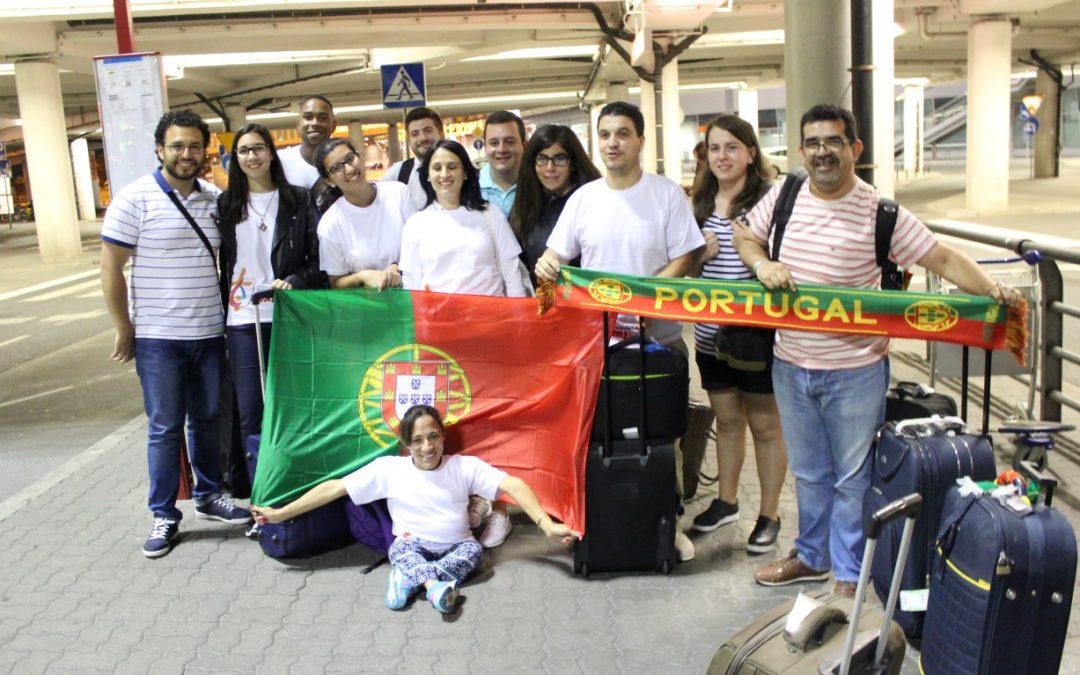 Encontro internacional do Jovens Dehonianos – JMJ (dia 2)