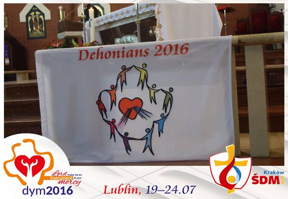 Encontro internacional do Jovens Dehonianos – JMJ (dia 1)