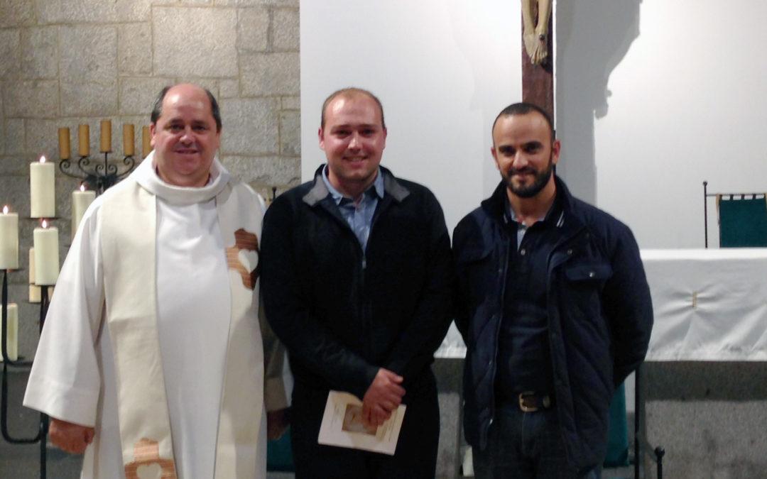 Início do Noviciado em Alba de Tormes, Espanha