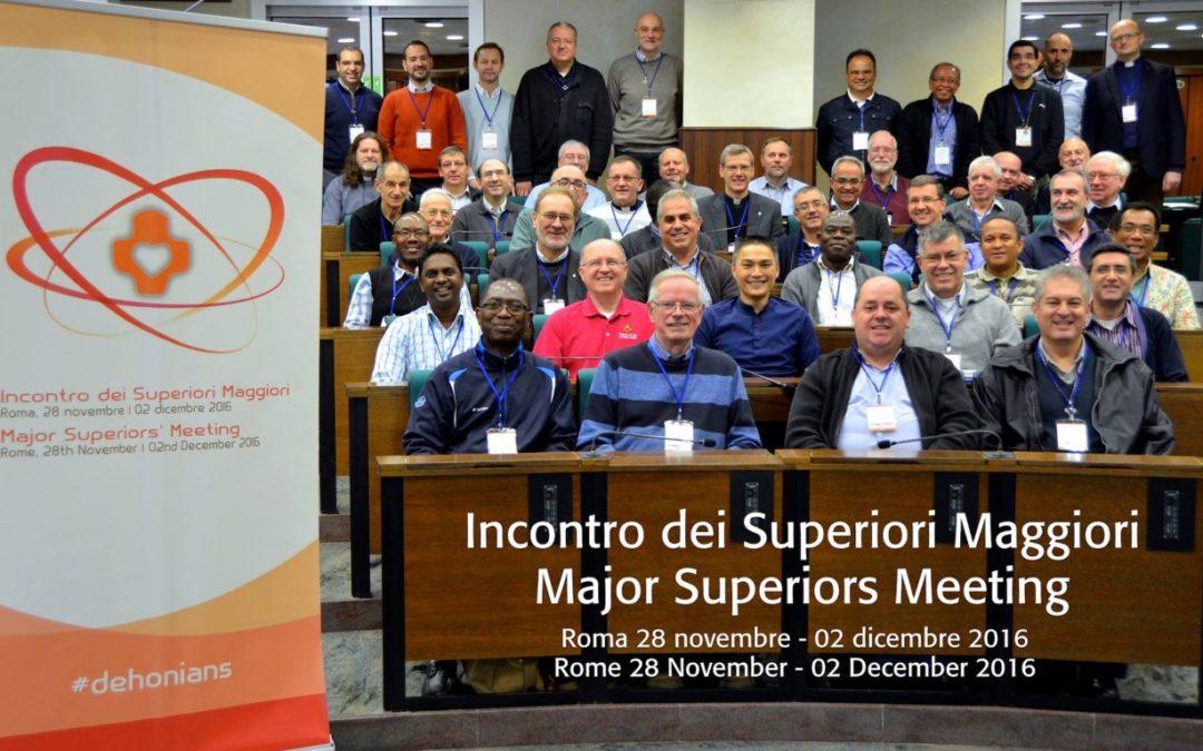 2º dia – Encontro de Superiores Maiores SCJ em Roma