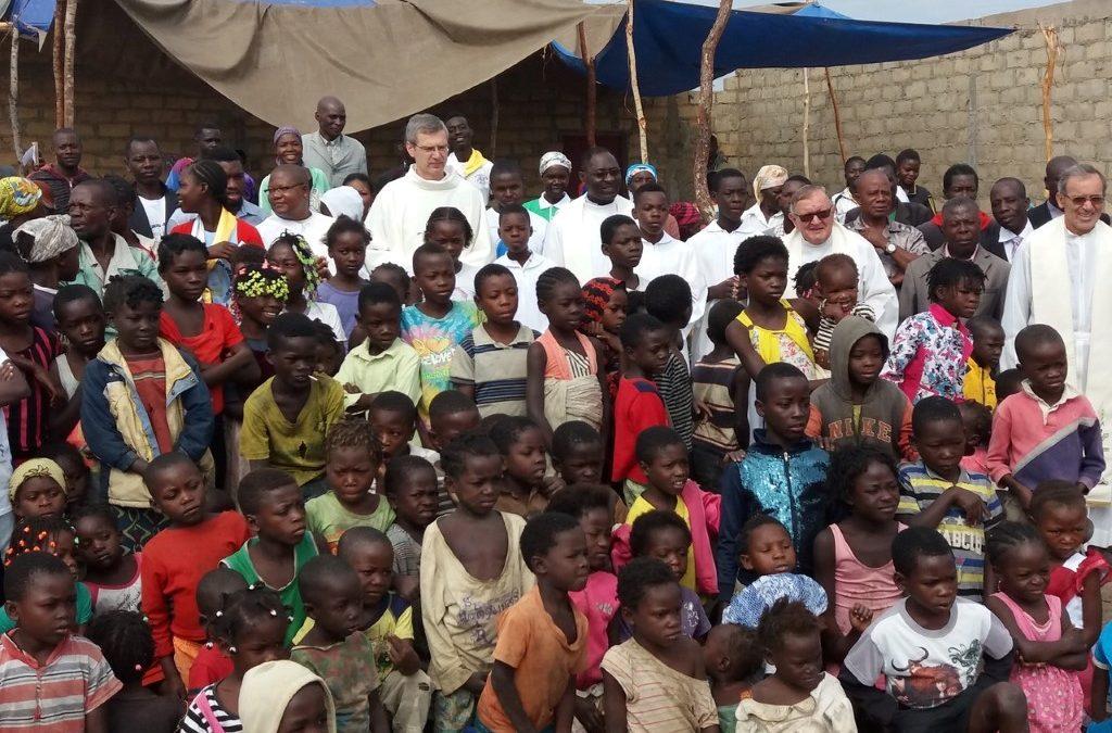 Visita Fraterna dos PP. Heiner e Léopoldoao Distrito de Angola