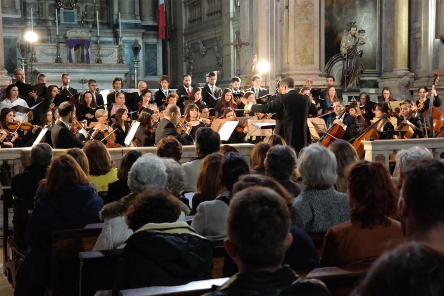 Igreja do Loreto: Concerto dos 20 anos do «Coro Ricercare»