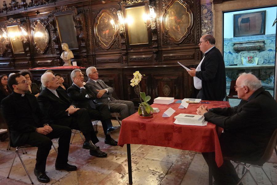 Apresentação do livro de Mons. Prospero Peragallo
