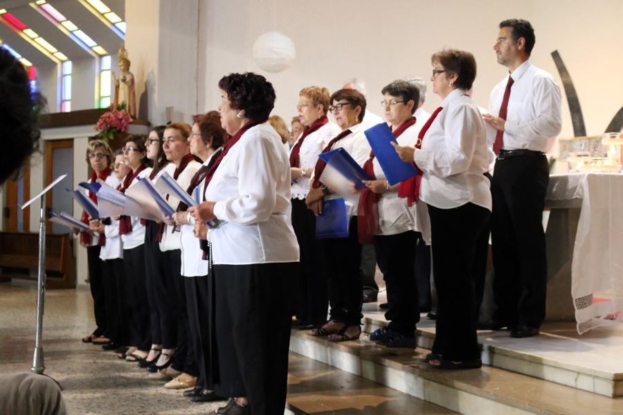 Encontro de coros no Seminário Missionário Pe. Dehon