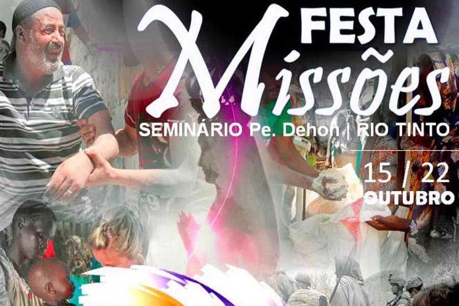Festa das Missões no Seminário Missionário Padre Dehon.