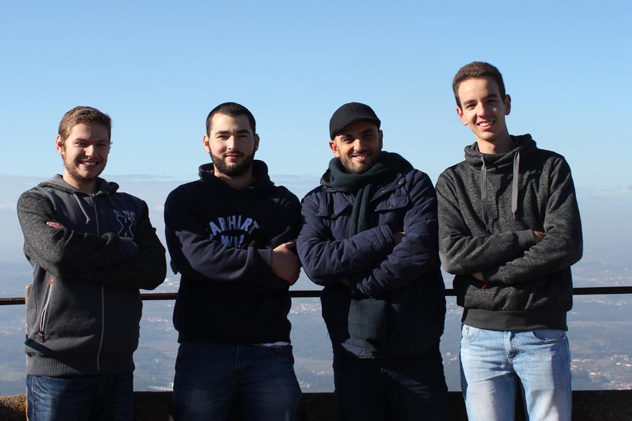 Seminaristas dehonianos por terras de Aveiro