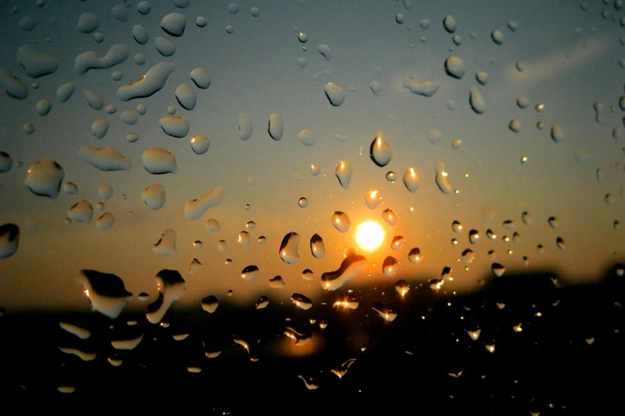 Chuva e sol para todos…