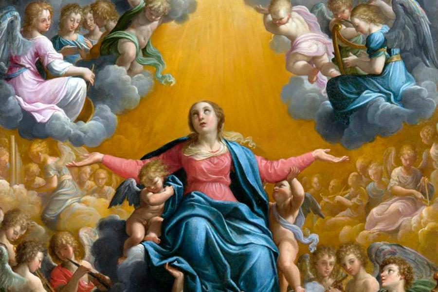 Maria, Rainha da criação…