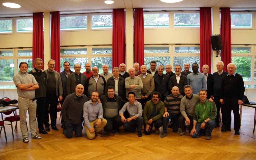 Encontro dos Superiores Maiores e delegados da Pastoral Juvenile Voluntariado missionário da Europa (dia3)
