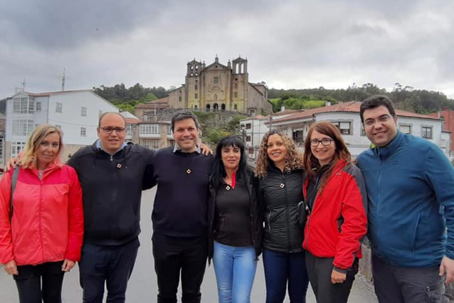 Grupo do Seminário de Alfragide peregrinou até Santiago de Compostela (23-28 abril de 2019)