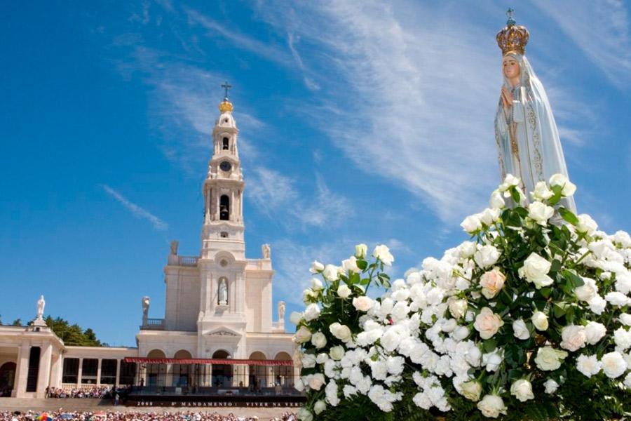 Peregrinação a Fátima por ocasião da conclusão do Ano Missionário