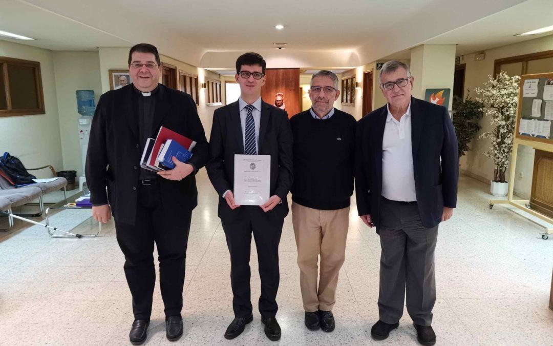 José Domingos Ferreira defendeu a sua tese de Licenciatura em Teologia da Vida Religiosa
