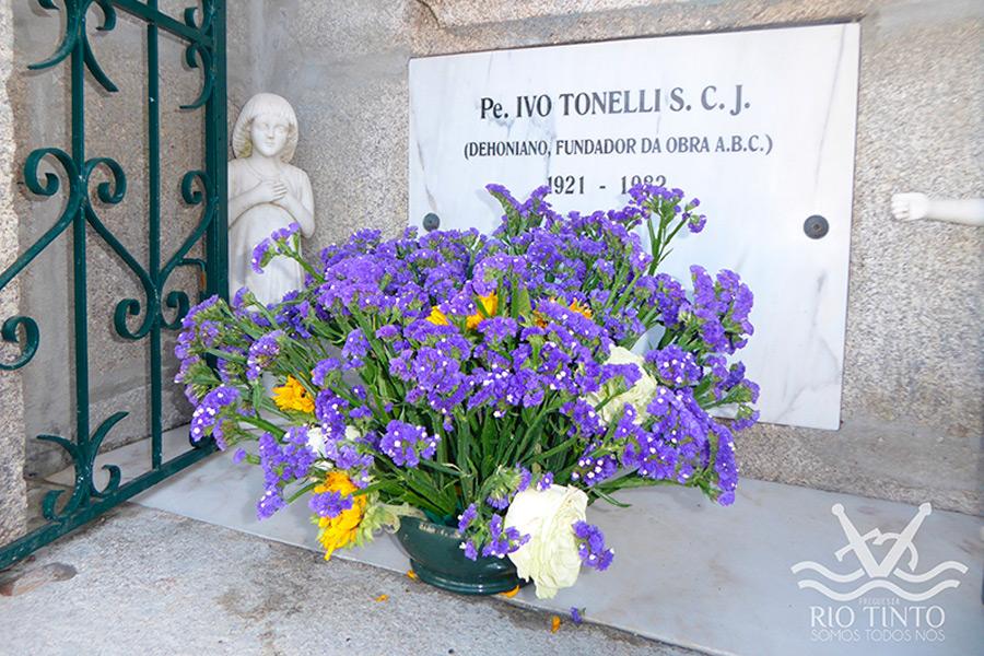 Transladação dos Restos mortais do Pe. Ivo Tonelli