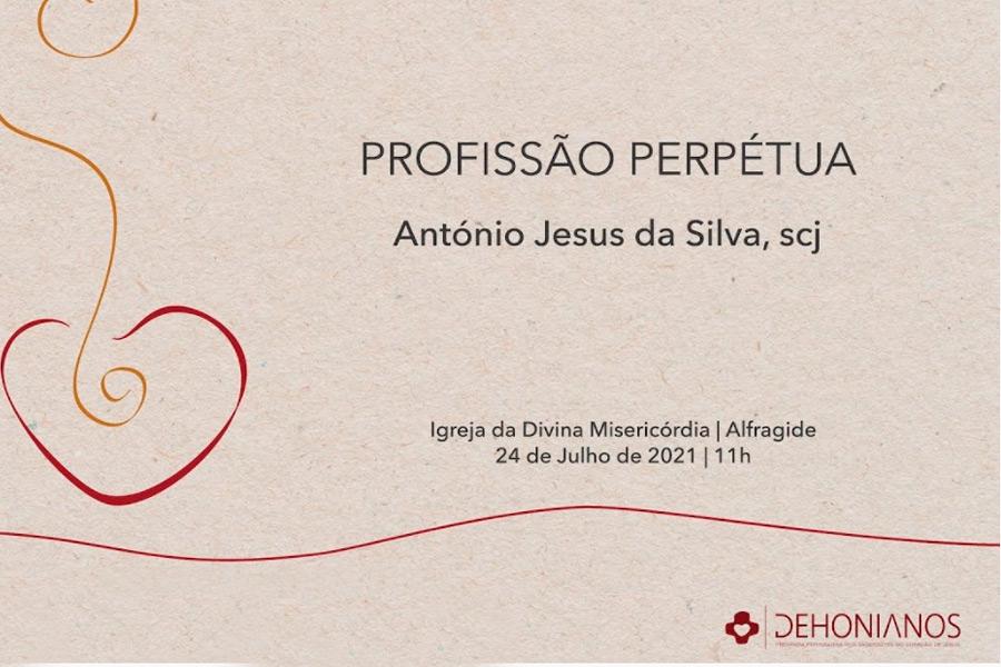 Profissão Perpétua de António Silva