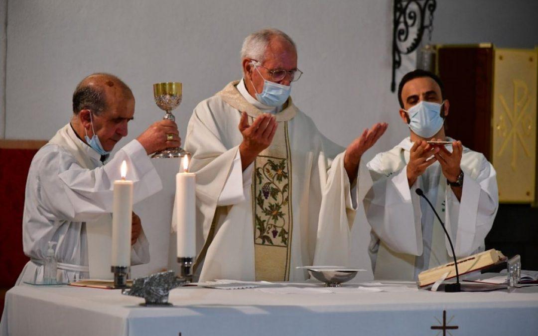 Celebração de Bodas de Ouro de Vida Religiosa do Pe. Manuel Jardim